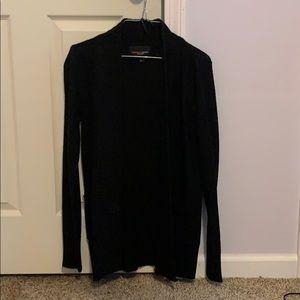 Black Sweater Cardigan.